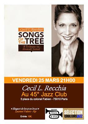 45° Jazz Club | 25 MARS 16